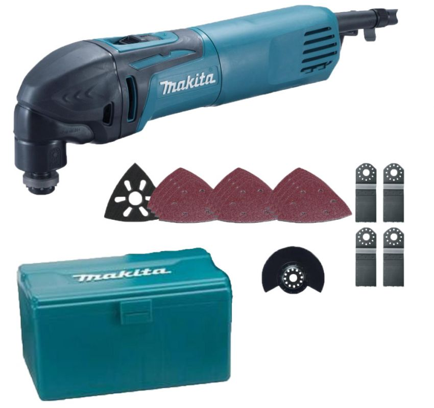 MAKITA Multifunkční bruska TM3000CX4J