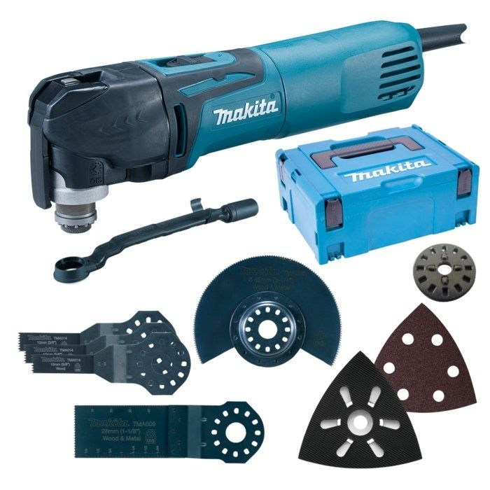 MAKITA Multifunkční bruska TM3010CX5J